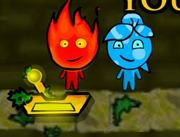 Cool Math Games Fireboy and Watergirl 1 in The Forest Temple