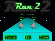 Run 2 Cool Math Games