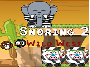 Snoring 2 Wild West Cool Math Game