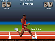 QWOP Athletics Cool Math Game