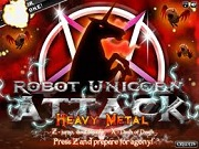 Robot Unicorn Attack Heavy Metal Cool Math Game